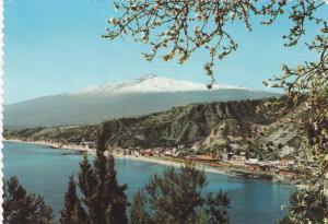 RP, Panorama With The Coast Giardini Gardens, TAORMINA (Sicily), Italy, 192...