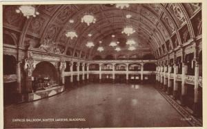 Empress ballroom, Winter Gardens , bLACKPOOL , England , 1910s