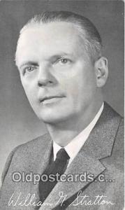 William G Stratton Illinois, Twice Congressman from Illinois Political Postca...
