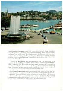 SWITZERLAND Postcard Lucerne, Wagenbach Fountain (A14)