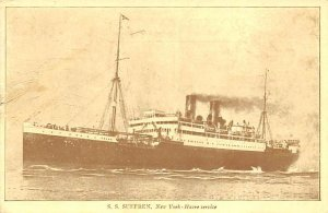 SS Suffren French Line Ship Unused