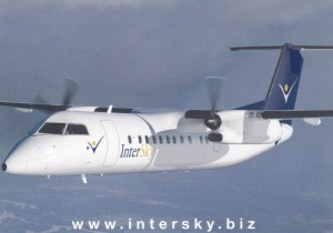 InterSky Dash 8-300 Airplane , 80-90s