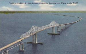 Florida´s Sunshine Skyway, Longest continuous structure over water in the wo...