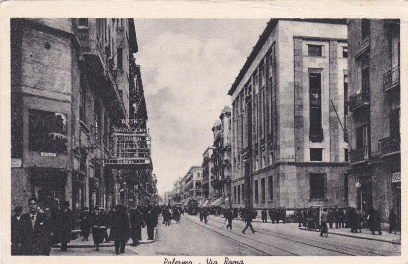Palermo-Via Roma, Italy , 1910s