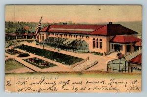 Pittsburgh PA-Pennsylvania, Zoological Garden, Vintage c1905 Postcard