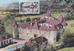 FRANCE, PU-1972; Chateau De Bazoches Du Morvand
