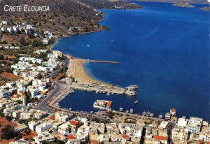 Greece Postcard, Elounda, Crete FK1
