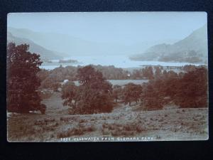 Cumbria Lake District ULLSWATER from GLEMARA PARK - Old RP Postcard by Lowe