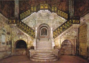 Spain Burgos Catedral Escalera dorado