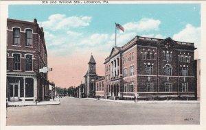 Pennsylvania Lebanon 9th and Willow Streets sk1529