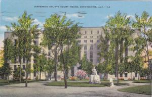 Jefferson County Court House, Birmingham, Alabama, PU-1950