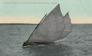 ORILLIA , Ontario, Canada, 00-10s ; A Sailing Breeze on  Lake Couchiching