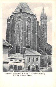 Krakow, Notre Dame Poland Unused
