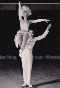 RP: Young Figure Skating Couple, 1950-60s