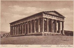 The Temple Of Theseus, Athenes, Greece, 1910-1920s