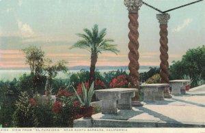 Circa 1907-15 El Fureides near Santa Barbara, California Postcard Detroit Pub.