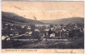 Whitesville NY, from Cemetery Hill