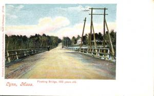 Floating Bridge - 100 Years Old - Lynn MA, Massachusetts - pm 1905 - UDB