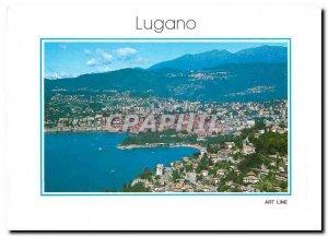 Modern Postcard Lugano