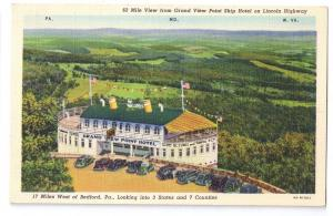 Grand View Point Ship Hotel Lincoln Highway Rt 30 Bedford PA