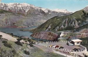 France Serre-Poncon Le Belvedere Barrage 1960 Real Photo