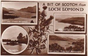 RP; SCOTLAND, PU-1954; A Bit Of Schotch From Lomond