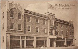 Rainy Lake Hotel Fort Frances Ontario ON Unused Postcard F60