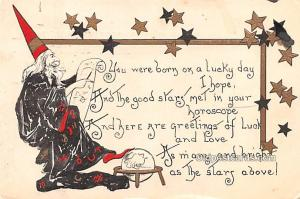 Halloween Post Card Old Vintage Antique Leobrie & Elkus 1908