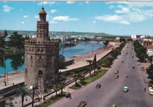 Spain Sevilla Tour Of The Gold Promenade Cristobal Colon