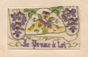Embroidered Flowers , 1914-18