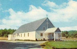 East Sebago Maine Roman Catholic Church Vintage Postcard JA4741426