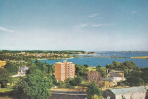 Penthouse Of Poole Hospital View Of Harbour Rare Aerial Postcard