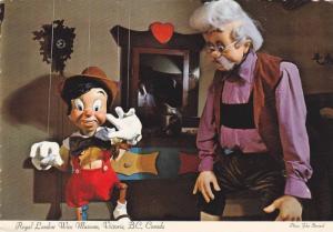 Gepetto's Workshop,  Pinocchio,  Royal London Wax Museum,  Victoria,  B.C.,  ...