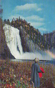 The Montmorency Falls,  Quebec,  Canada,  40-60s