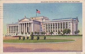 Oklahoma State Capitol Oklahoma City Oklahoma 1945