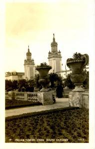 CA - San Francisco. 1915 Pan Pacific Int'l Expo, Italian Towers. *RPPC