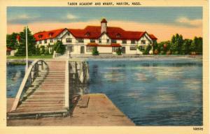 MA - Marion, Cape Cod. Tabor Academy and Town Wharf