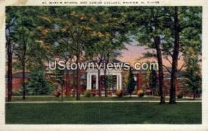 St. Mary's School and Junior College Raleigh NC Unused