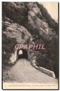 Postcard Old Ste Eulalie En Royans Small Goulets The Exit