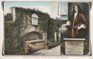 Bermuda Hamilton Admiral Sir George Somers and His Tomb