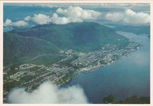 Canada British Columbia Prince Rupert Aerial View