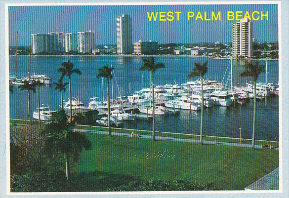 Marina With Boats West Palm Beach Florida