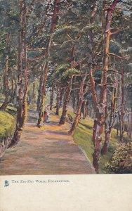 FOLKESTONE, England, 1900-10s; The Zig Zag Walk ; TUCK 1471