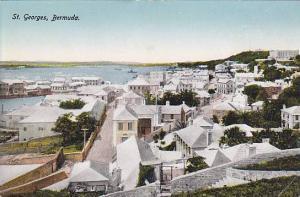 Aerial View, St. Georges, Bermuda, 00-10s