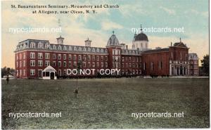 St Bonaventures Seminary, Olean NY