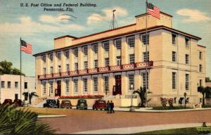 Florida Pensacola Post Office and Federal Building 1948 Curteich