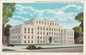 Court House , FORT SMITH , Arkansas , 20-30s