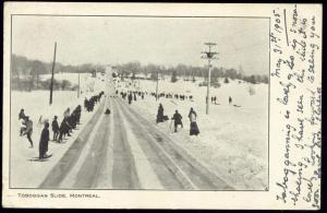 canada, MONTREAL, Quebec, Toboggan Slide (1905)