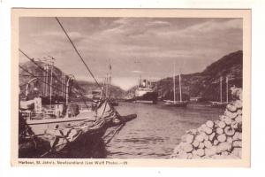 Boats in Harbour, St. John's Newfoundland,