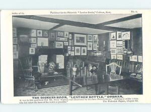Charles Dickens Room At Leather Bottle Cobham - Gravesham - Kent UK F5338